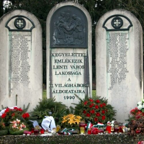 II. világháborús emlékmű | Lenti