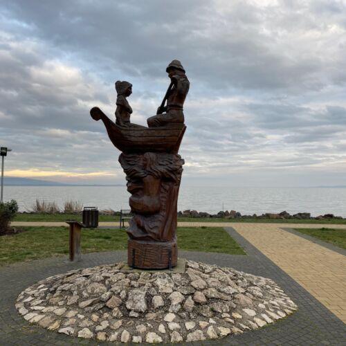 Helka és Kelén szobor | Keszthely