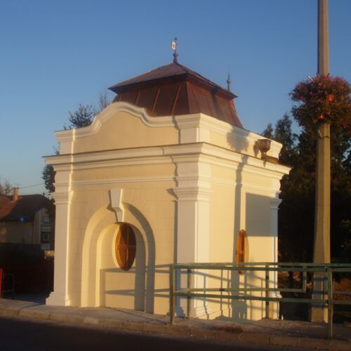 Vámház - II. Világháborús Emlékhely   Ráckeve