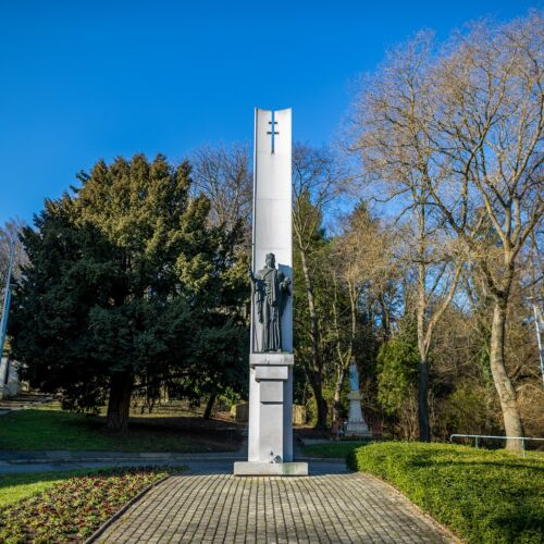 Szent István szobor   Szombathely