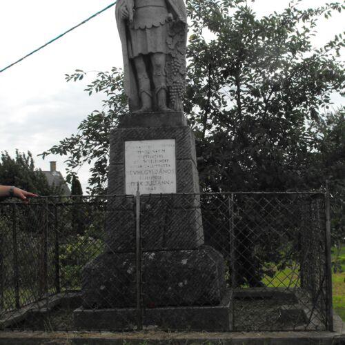 Szent Donát szobor   Tamási