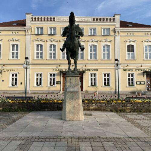 Bocskai István lovasszobra | Hajdúszoboszló