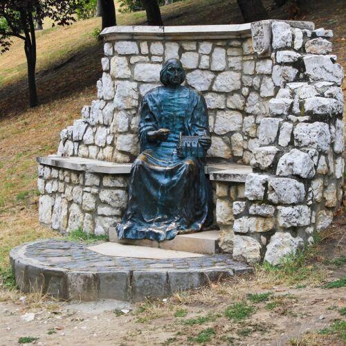 Vitéz János szobor   Esztergom