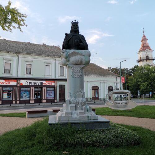 Szent István szobor