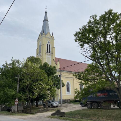 Cserépfalui Református templom   Cserépfalu