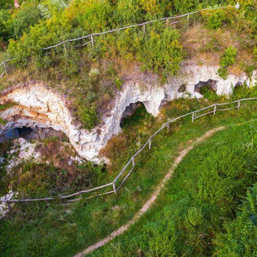 Kisamerika barlanglakások | Cserépfalu