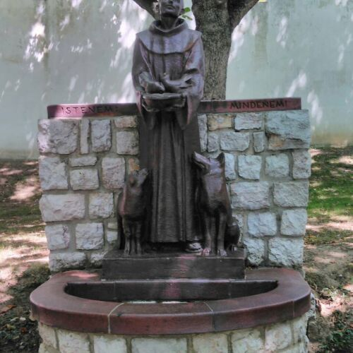 Assisi Szent Ferenc szobor | Siklós