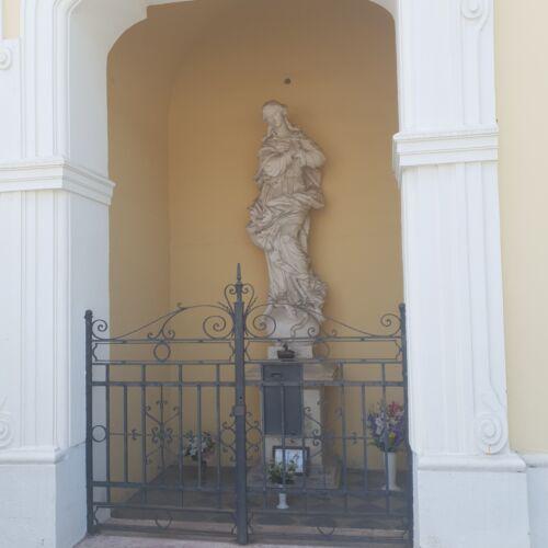 Hab Mária szobor | Győr