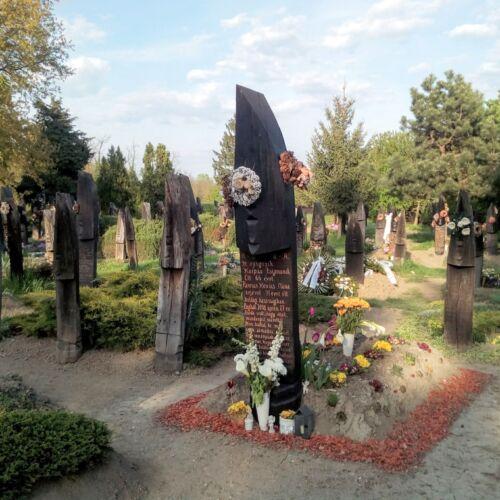 Kopjafás temető | Szatmárcseke