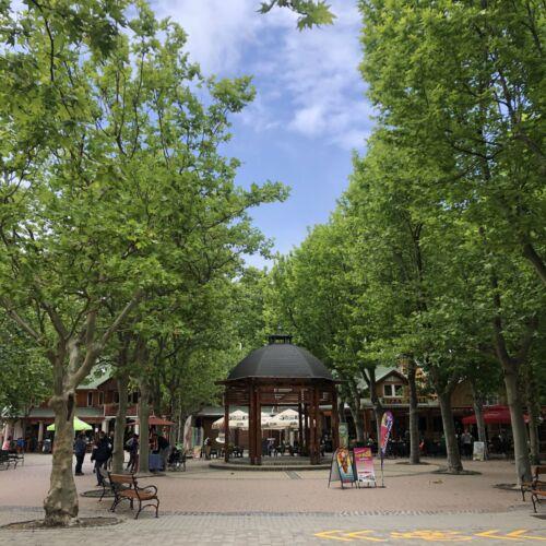 Platán tér | Balatonboglár
