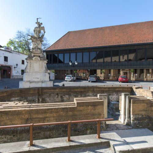 Szent Lázár templomrom | Győr