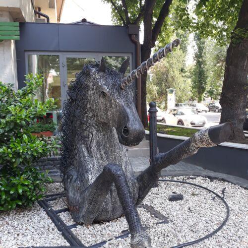 Unikornis szobor | Eger