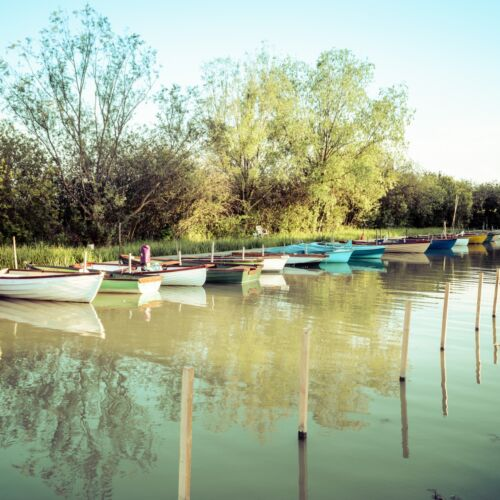 Balatonederics csónakkikötő   Balatonederics