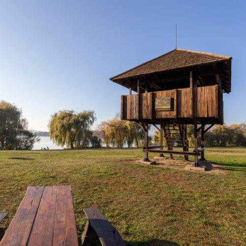 Kányavári-sziget Kis kilátó   Balatonmagyaród