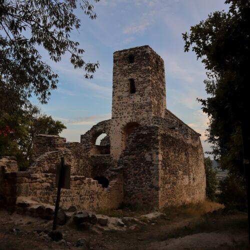 Szent Balázs templomrom   Szentantalfa