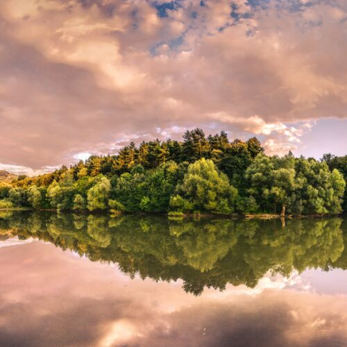 Malomvölgyi-tó | Tardosbánya