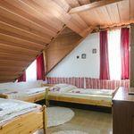 Kertre néző emeleti négyágyas szoba