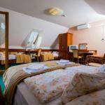 Camera cvadrupla cu balcon cu vedere spre padure (se poate solicita pat suplimentar)