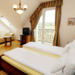 Family Double Room with Shower (extra bed available)