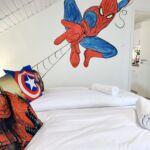 Apartament spiderman cu aer conditionat cu 3 camere pentru 8 pers.