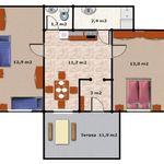 Apartament 4-osobowy na parterze z łazienką z 2 pomieszczeniami sypialnianymi