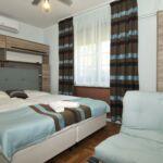 Kertre néző Komfort 2 fős apartman 1 hálótérrel (pótágyazható)