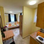 Apartament 2-osobowy na parterze z widokiem na ogród z 1 pomieszczeniem sypialnianym