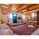 Kertre néző teljes ház négyágyas szoba (pótágyazható)