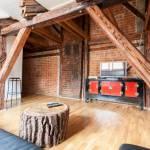 Apartament 7-osobowy na poddaszu Komfort z 3 pomieszczeniami sypialnianymi