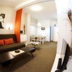 Apartament 6-osobowy na piętrze z 3 pomieszczeniami sypialnianymi