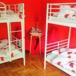 Dormitory Női ágy/ágyanként foglalható 4x emeletes ágyas egyágyas szoba