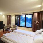 Panorámás Standard franciaágyas szoba (pótágyazható)