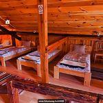 Erdőre néző emeleti 11 ágyas szoba (pótágyazható)
