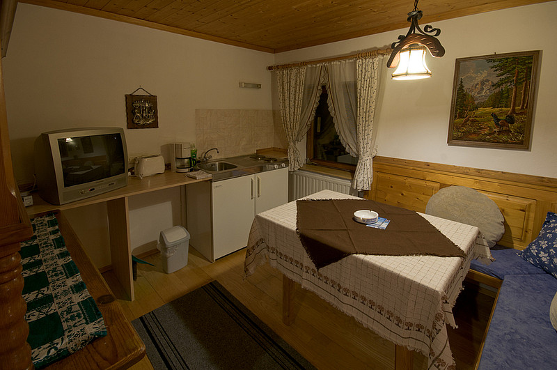 Appartement hauser mitterer zell am see for Living room zell am see