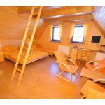 Panorámás Standard négyágyas szoba (pótágyazható)