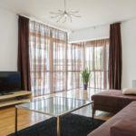 Apartament deluxe cu balcon cu 2 camere pentru 4 pers. (se poate solicita pat suplimentar)