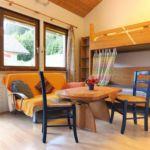Family 3-Zimmer-Apartment für 6 Personen mit Aussicht auf die Berge