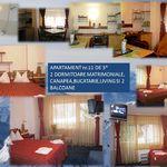Apartament standard Plus cu chicineta proprie cu 2 camere pentru 4 pers.