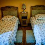 Erkélyes Romantik kétágyas szoba