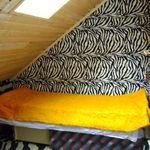 Tetőtéri egyágyas szoba