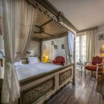 Romantik franciaágyas szoba