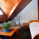 Tetőtéri Standard egyágyas szoba