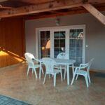 Apartman s terasou pro 4 os. s 1 ložnicí v přízemí