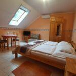 Apartman s klimatizací pro 2 os. s 1 ložnicí v podkroví