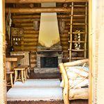 Deluxe весь дом 2 местный деревянный дом 2 спальных пространств (с дополнительной кроватью)