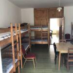 Kertre néző földszinti nyolcágyas szoba