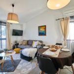 Emeleti légkondicionált 6 fős apartman 3 hálótérrel