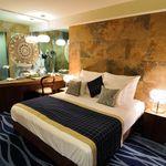 Exclusive Aqua franciaágyas szoba