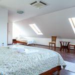 Udvarra néző tetőtéri négyágyas szoba (pótágyazható)