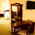 Deluxe Apartman s manželskou postelí s 1 ložnicí s panoramou (s možností přistýlky)